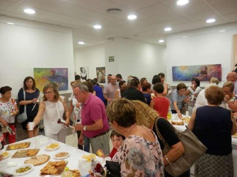 Inauguración de la mostra. EPDA