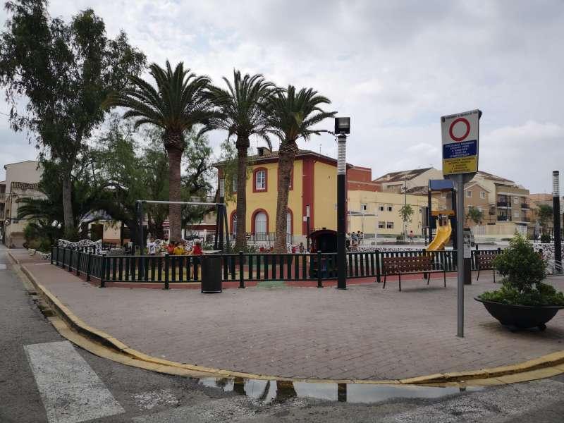 Una de las plazas que se van a peatonalizar. / EPDA