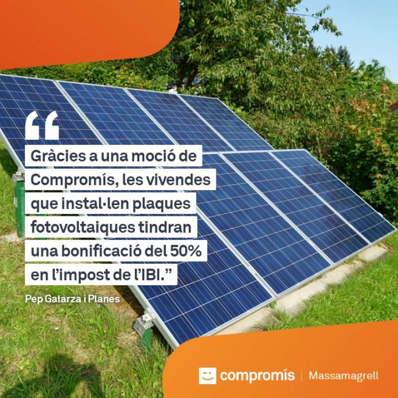 Cartell de Compromís per Massamagrell. EPDA
