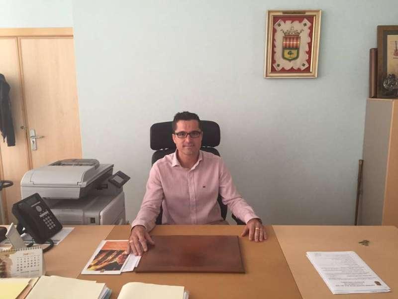 El alcalde de Bonrepòs, Rubén Rodríguez. EPDA