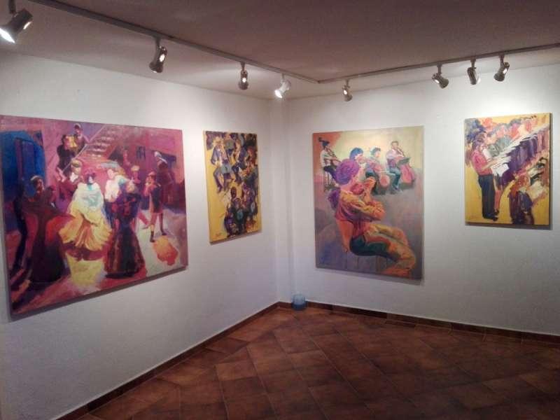Exposición del pintor Bautista. EPDA