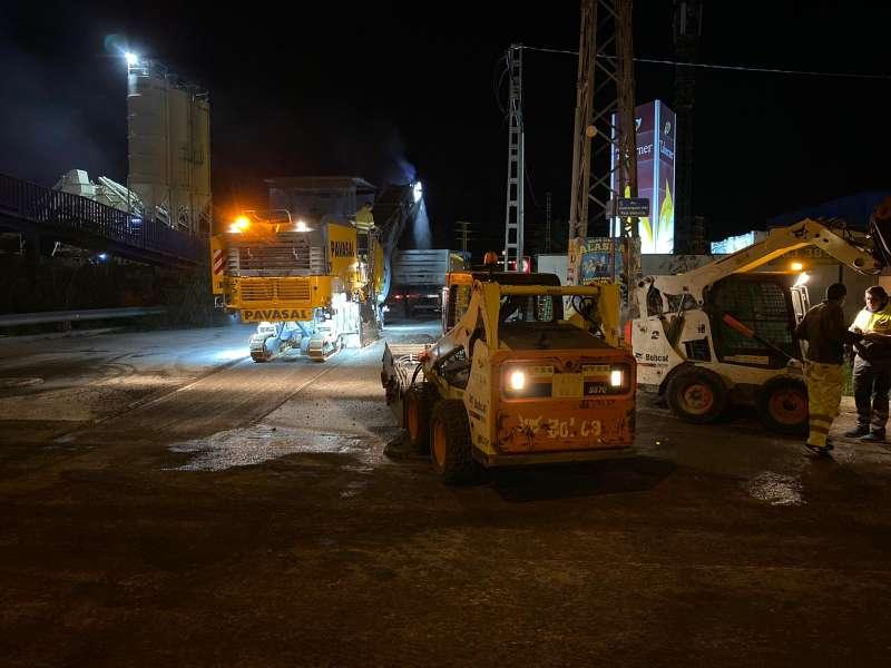 Nueva vía en la zona industrial. EPDA
