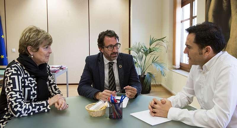 Mascarell se reúne con alcalde de Canet. EPDA