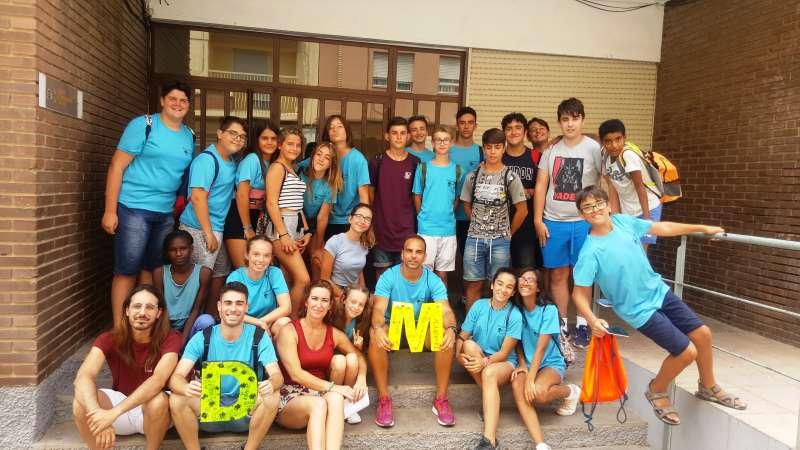 Participantes del Estiu Jove
