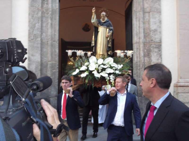 Festividad en honor a San Vicente Ferrer de Quart de les Valls. EPDA