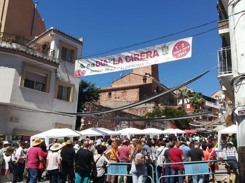 Dia de la Cirera en Serra. / EPDA