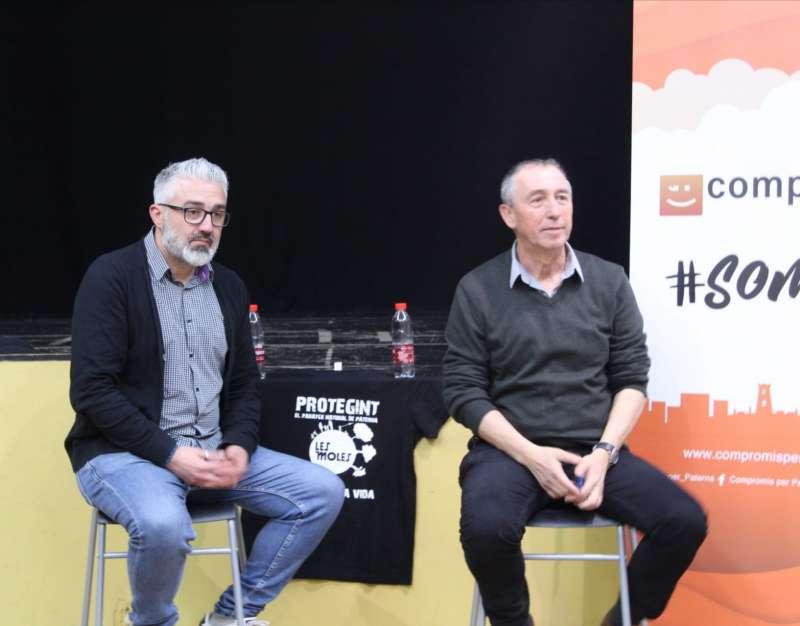 Juanma Ramón y Joan Baldoví. EPDA