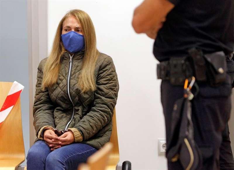 Concepción Martín, conocida como la viuda negra de Alicante, en el juicio en la Audiencia Provincial de Alicante EFE/Pep Morell