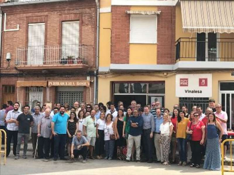 Visita de Ximo Puig a Vinalesa. EPDA