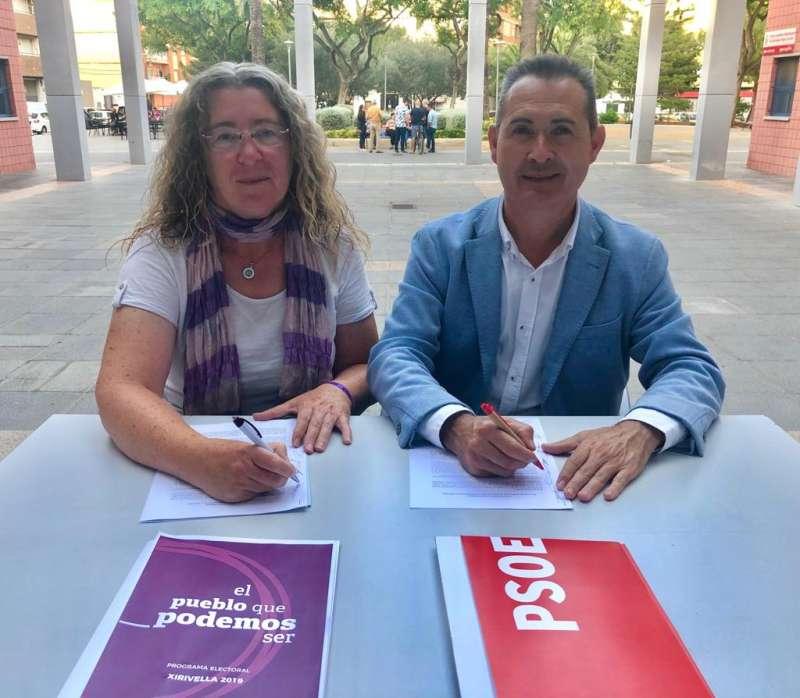 Signatura entre representats politics