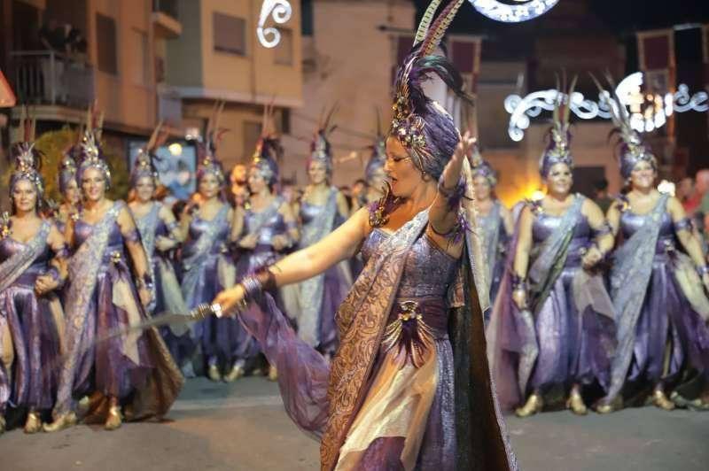 Desfile Moros y Cristianos. EPDA