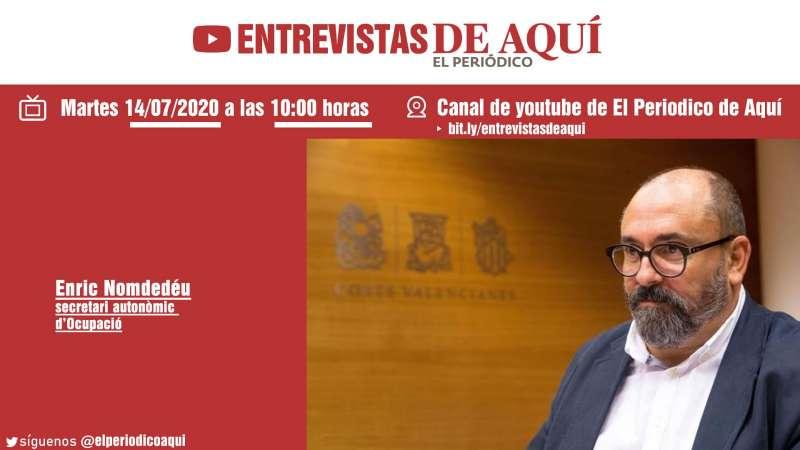 La Entrevista de Aquí: Enric Nomdedéu. EPDA