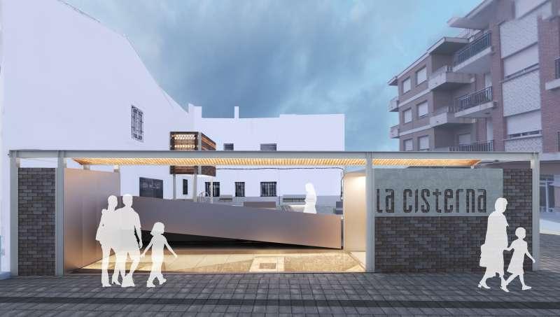 Proyecto de recuperación de la antigua Cisterna. / EPDA