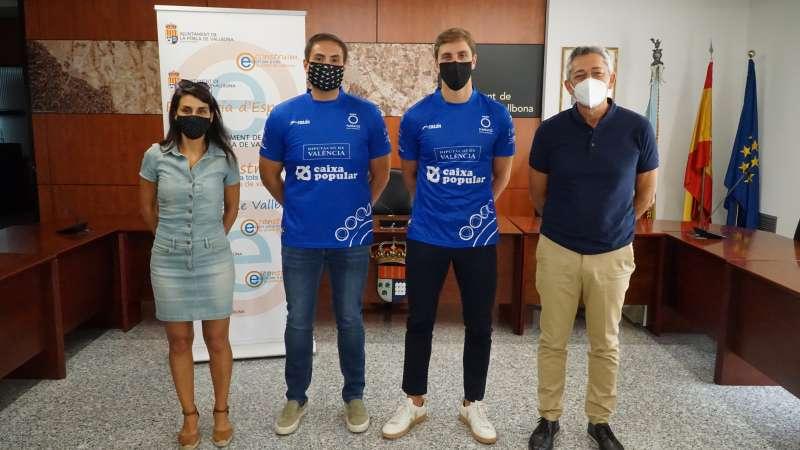 Representants en la Copa Diputació de Pilota. / EPDA