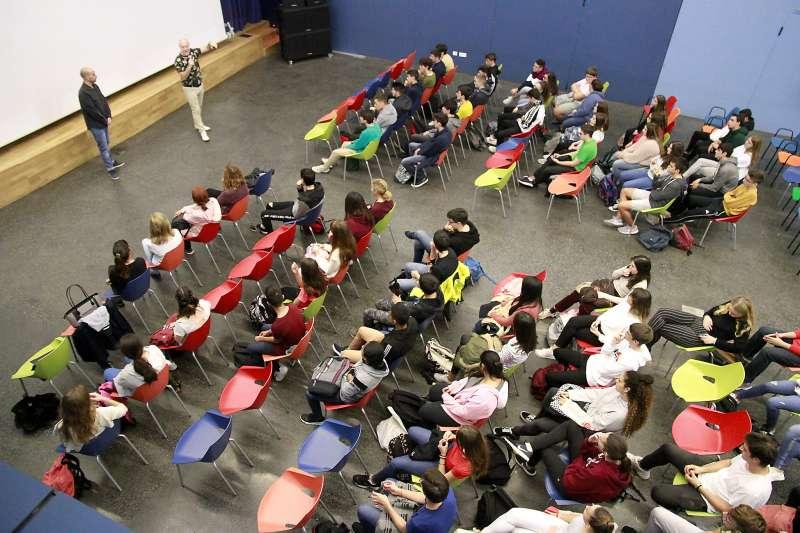 Sesión del instituto del pasado año. EPDA