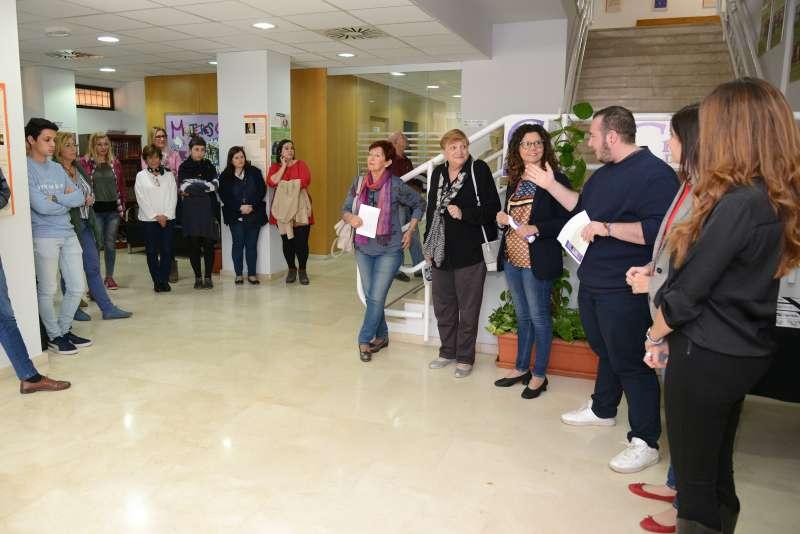 Moltes activitats pel 25N a Paiporta. EPDA