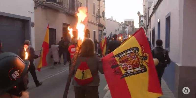 Protestas en Benimaclet. EPDA