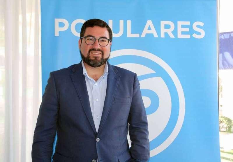 El portavoz del PP de Canet, Leandro Benito. EPDA