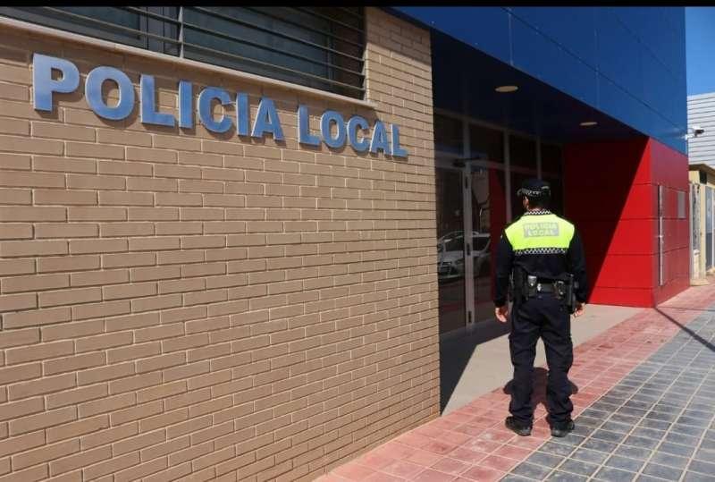 Policía local en Albal. EPDA