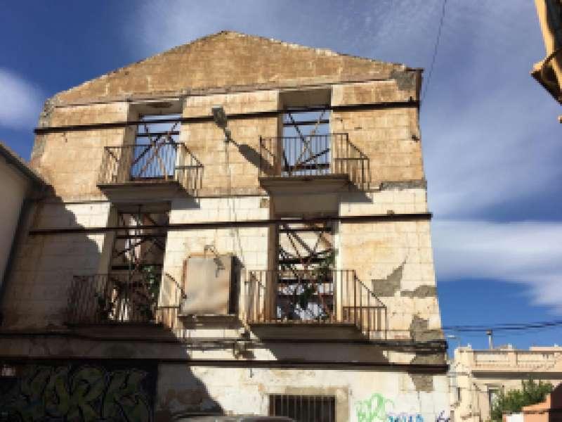 Pie de Casa de la Santísima Trinidad de Godella. EPDA
