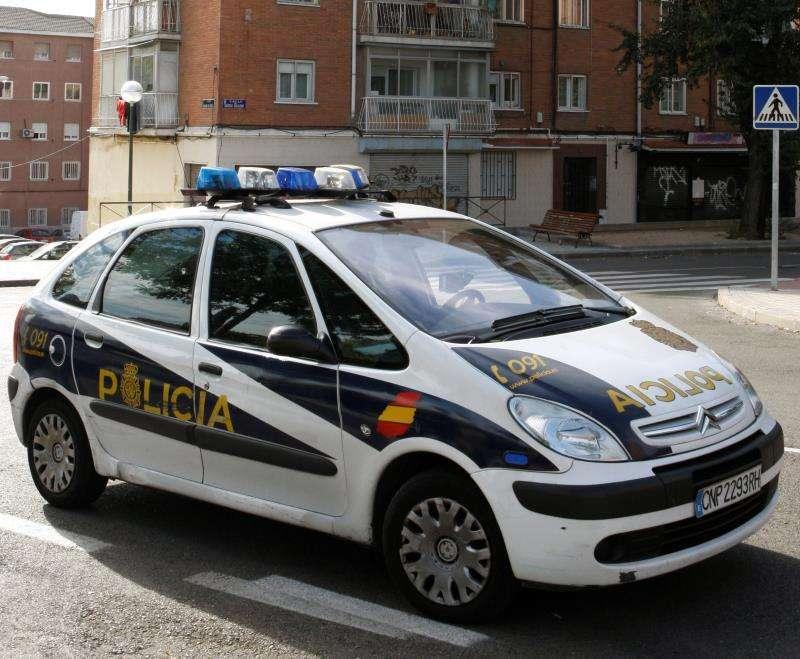 Coche de la Policía Nacional. EPDA