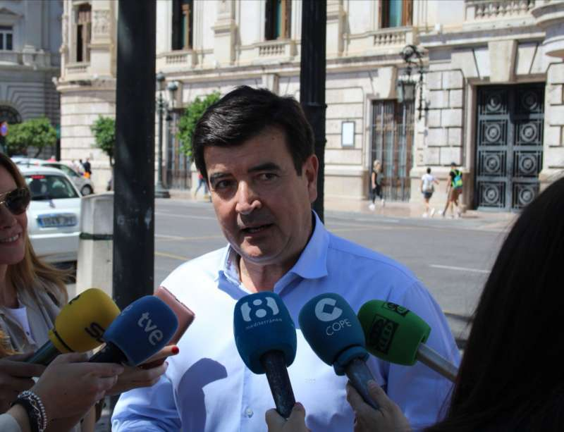 Fernando Giner, portavoz de Ciudadanos en el Ayuntamiento de València. EPDA