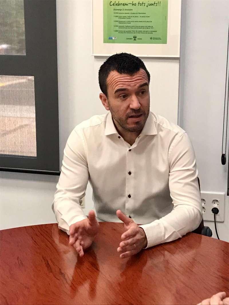 El candidato a la presidencia provincial del PP de Valencia, Vicente Mompó. epda