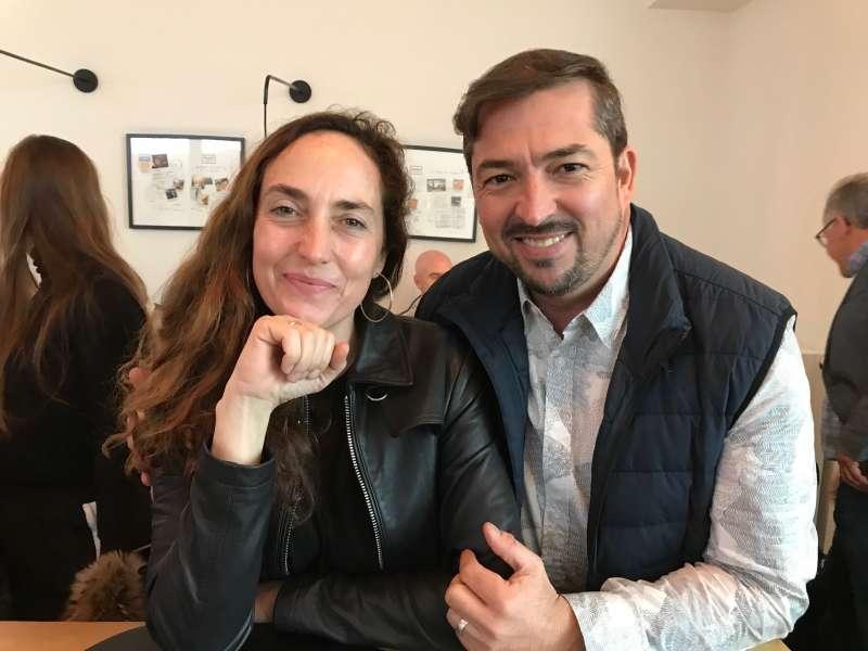 Junto a la eurodiputada Carolina Punset.