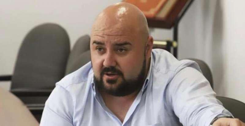 El alcalde de Gilet, Salva Costa. EPDA