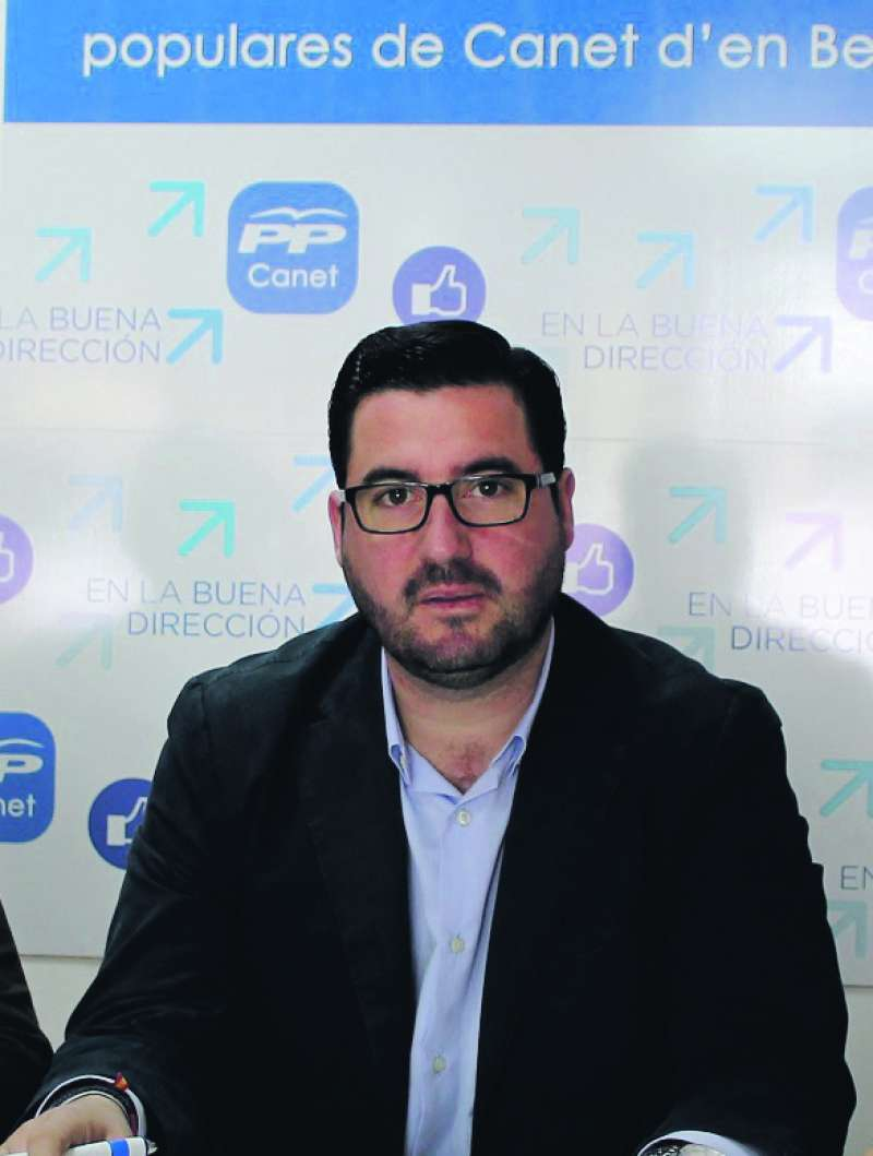 Leandro Benito, ex alcalde de Canet. EPDA