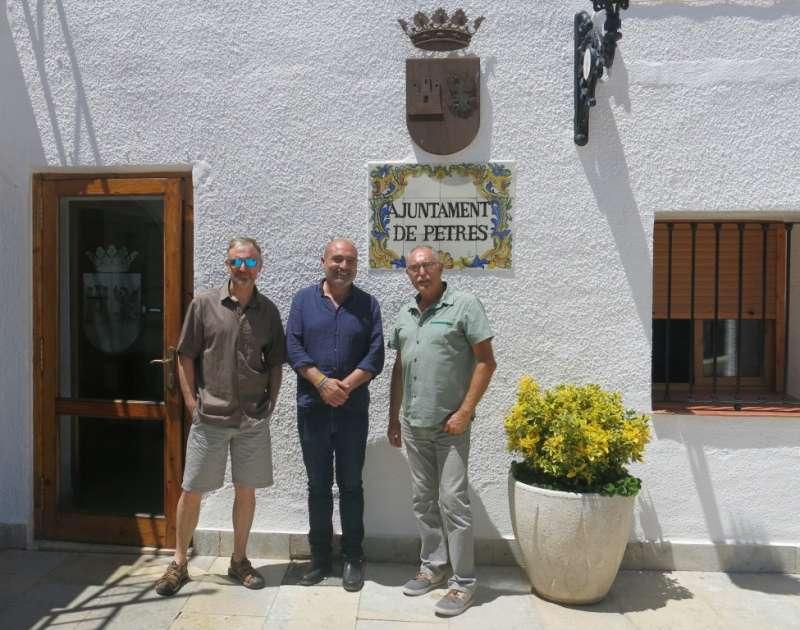 El regidor, Miguel Peruga, Xavier Rius, i l
