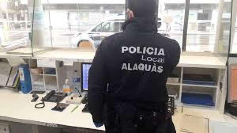 Agente de la Policía Local de Alaquàs. EPDA