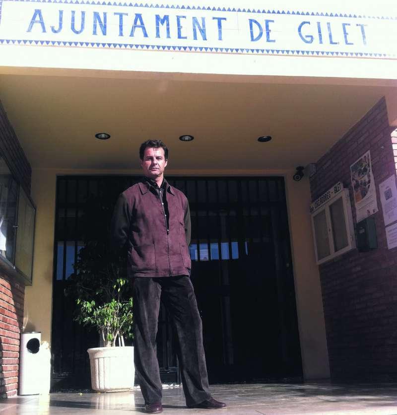 El ex alcalde Juan Carlos Vera de Gilet. EPDA