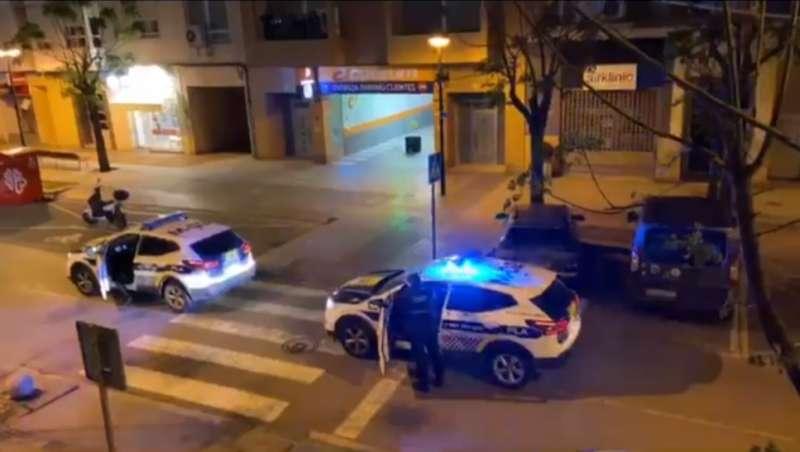La Policía Local de Alboraya aplaude a sus vecinos