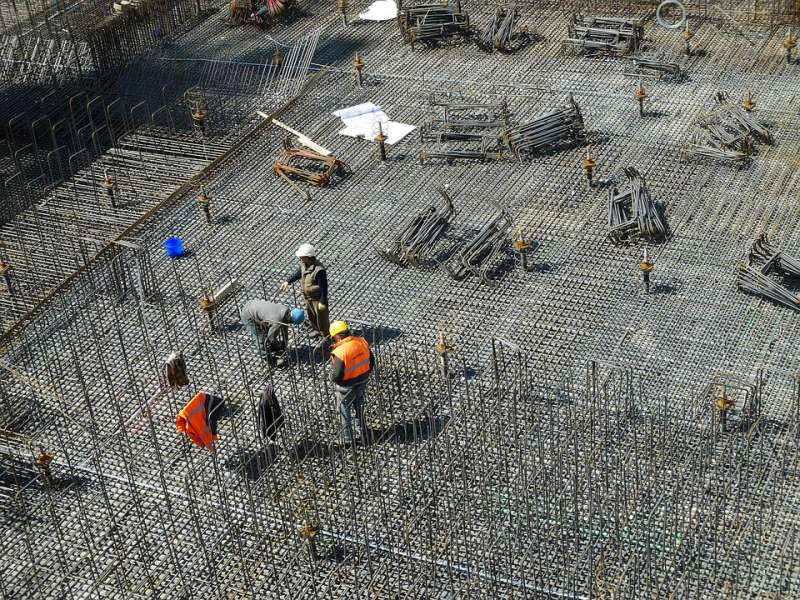 Obreros en una construcción. / EPDA