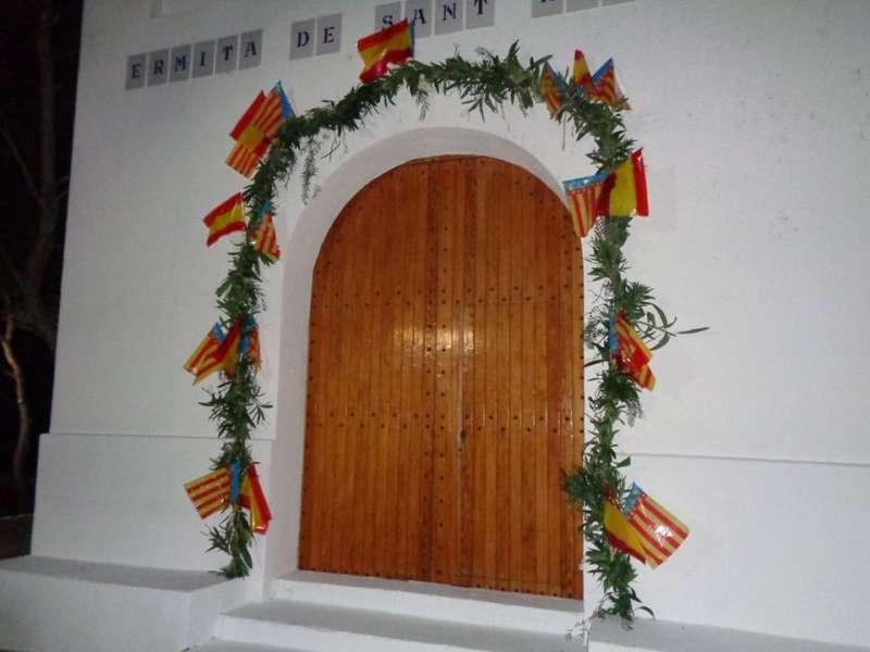 Arco de verde de San Roque . EPDA