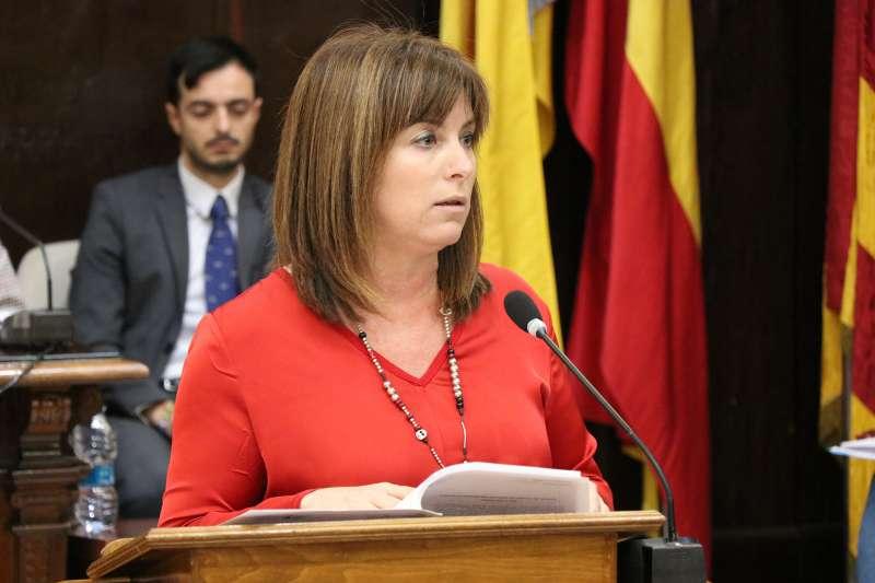 La concejala de Promoción Económica, María José Carrera.