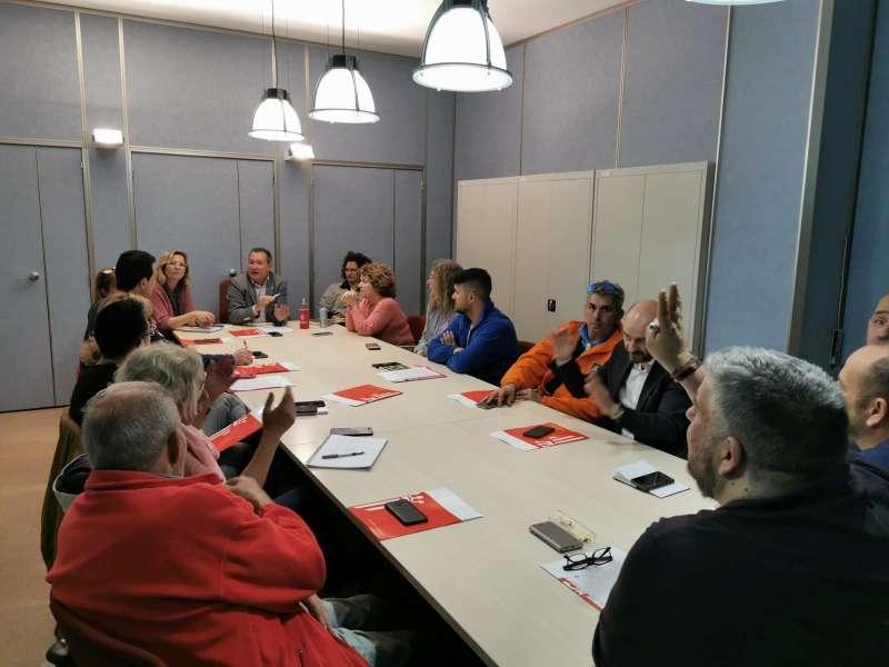 Reunión del Comité de Seguridad y Salud municipal. EPDA
