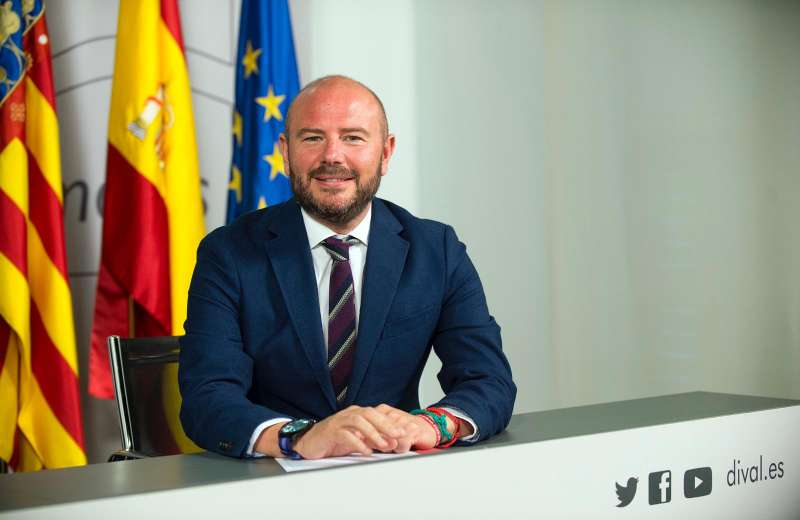 Toni Gaspar, presidente de la Diputación de Valencia. EPDA