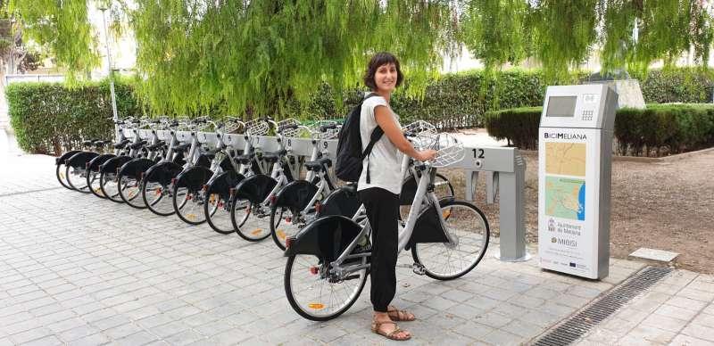 Nova estació de bicis de Meliana. EPDA