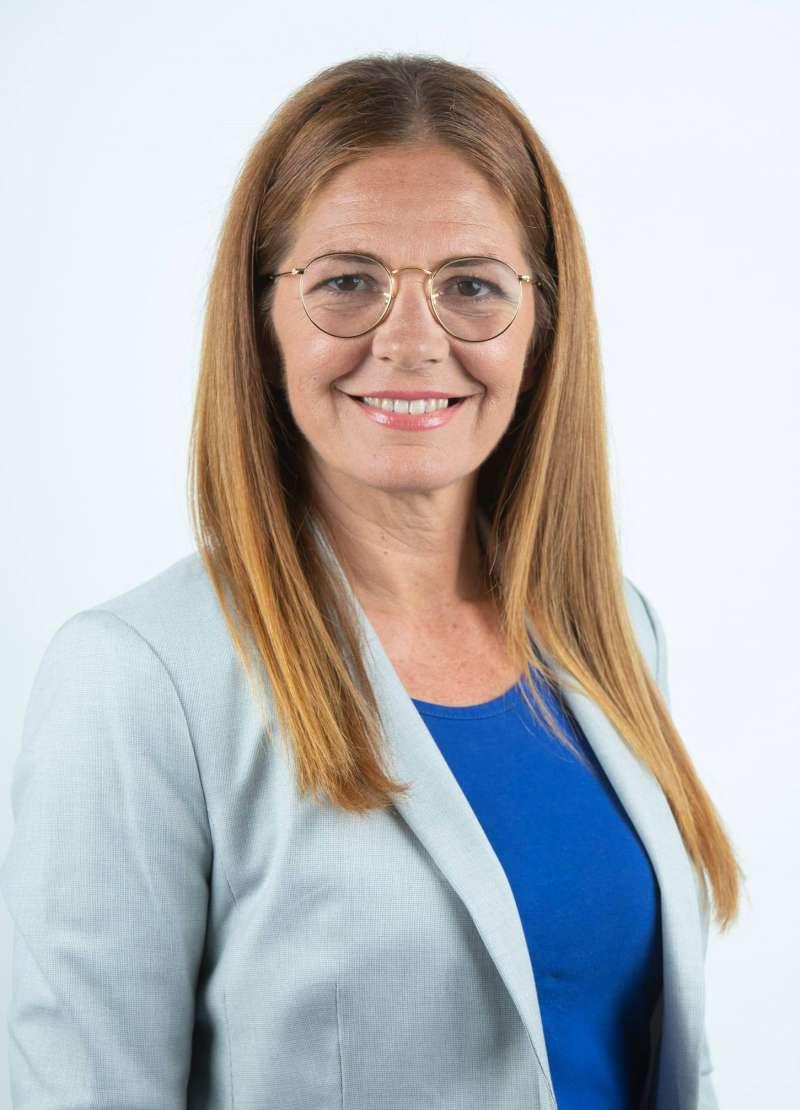 María José Ruiz, candidata del Partido Popular a la alcaldía de Riba-roja./epda