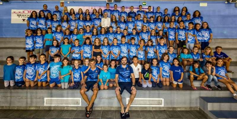 Presentación de las secciones deportivas del Natación Morvedre. EPDA