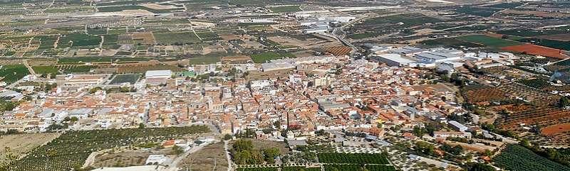 Vista de Vallada. EPDA