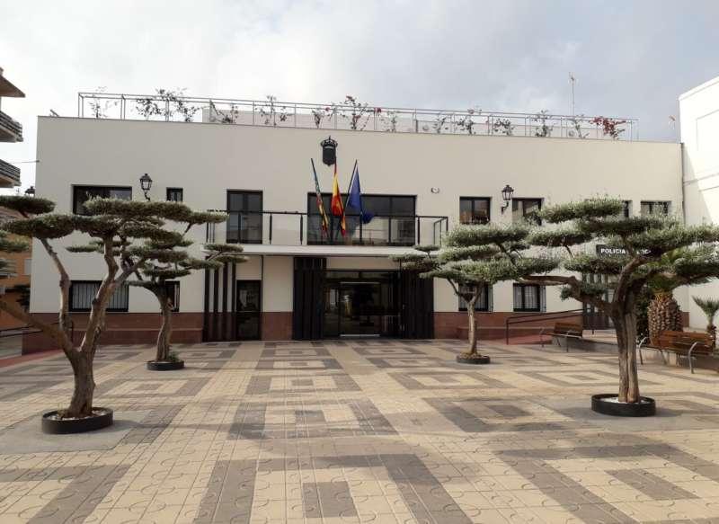 La casa consistorial de Faura. EPDA