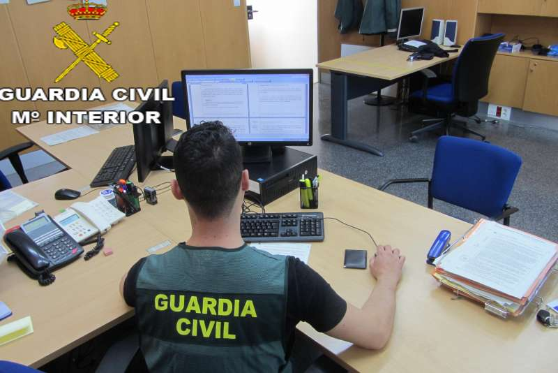 Un agente de la Guardia Civil. EPDA