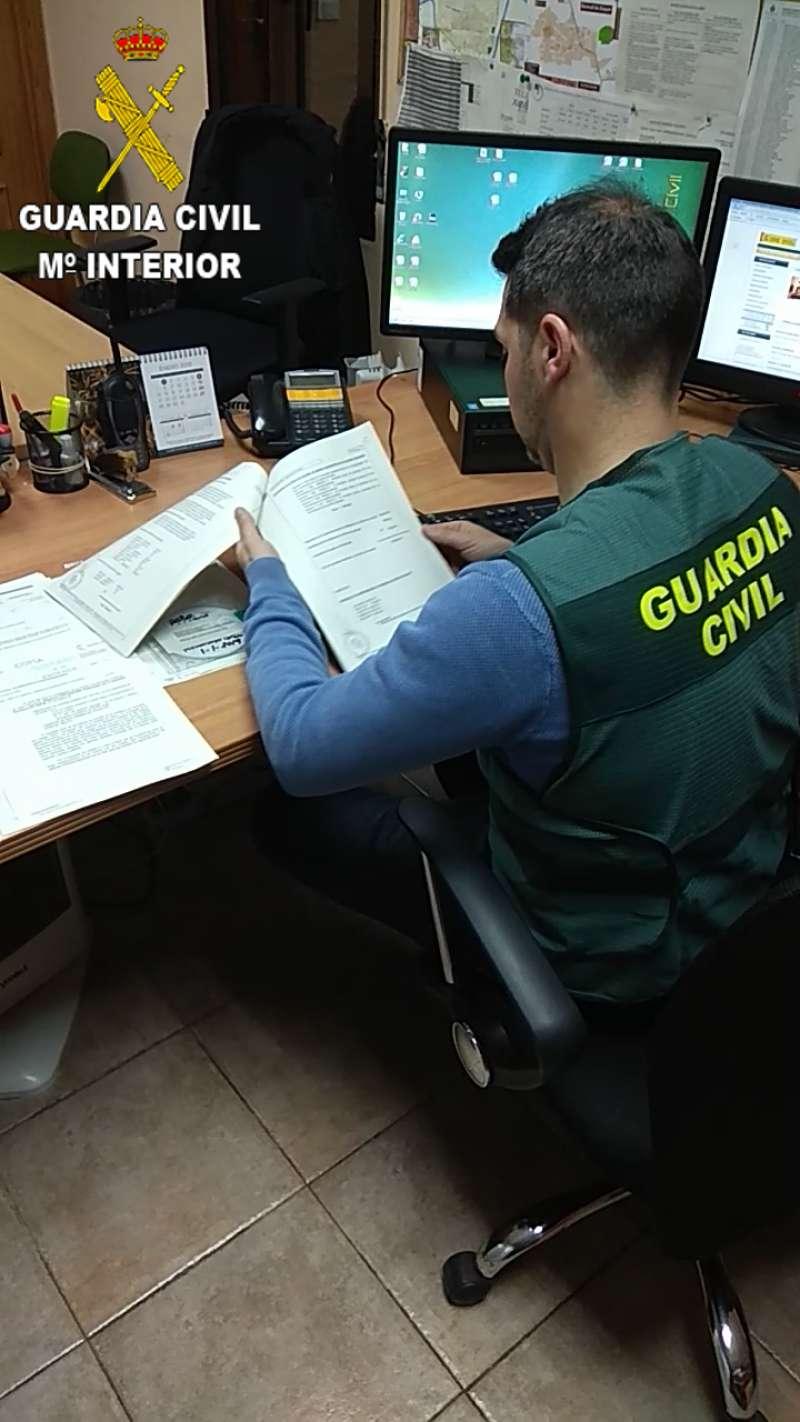 Agente de la Guardia Civil. EPDA