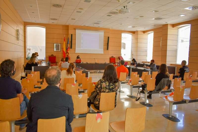 Reunión sobre el IV Plan de Igualdad de Alfafar
