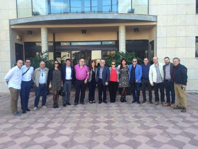 Alcaldes y concejales socialistas en Albuixech. EPDA