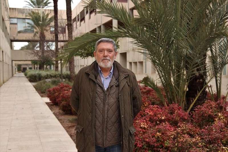 El catedrático de Puertos y Costas de la Universidad Politécnica de Valencia José Serra, en una imagen de la UPV.