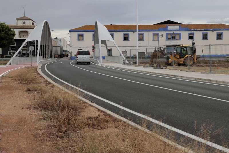 Obras calle Federica Montseny./PDA